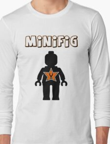 Minifig [Black], Customize My Minifig Star Logos Long Sleeve T-Shirt