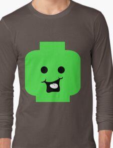 Cheeky Minifig Head Long Sleeve T-Shirt