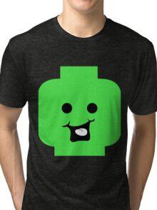 Cheeky Minifig Head Tri-blend T-Shirt