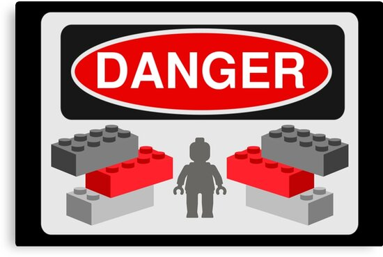 Danger Bricks & Minifig by Customize My Minifig