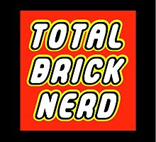 TOTAL BRICK NERD by Customize My Minifig