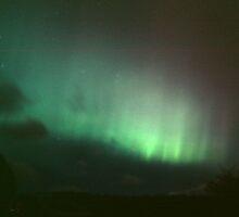 Auroral glow by Fiona MacNab