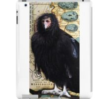 BIRD WOMAN of Mississippi - mixed media assemblage art iPad Case/Skin