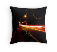 Time Lapse Throw Pillow
