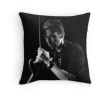 Pensive Rocker Throw Pillow
