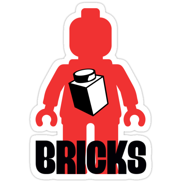 Minifig with Brick, Customize My Minifig by Customize My Minifig