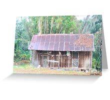 Grandma's House in Watercolor Greeting Card