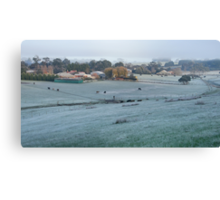 A Cold Country Morning - Nairne. Canvas Print