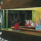WHITEHAWKS  (pastel version) by ArchieMoore