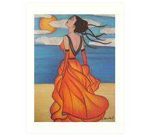 The Beach 3 Art Print
