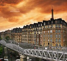 My Hotel Room (Paris) by Tony Elieh
