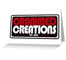 Crammed Creations Greeting Card