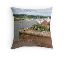 Exe Estuary Throw Pillow