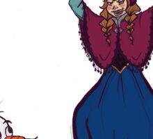 Anna and Olaf Sticker