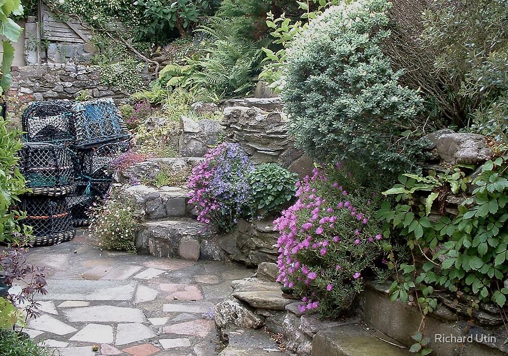 Devon cottage garden by Richard Utin