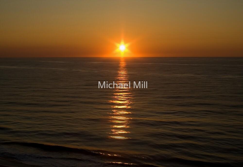 Ocean Sunrise by Michael Mill