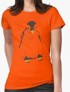 Festive Penguin Womens Fitted T-Shirt