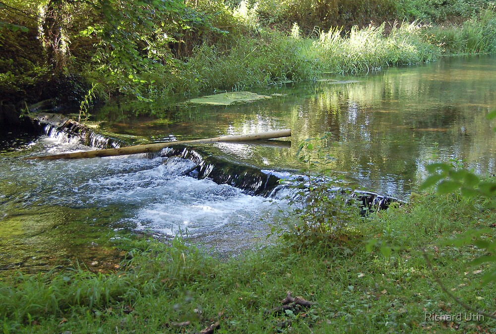Flowing river  by Richard Utin