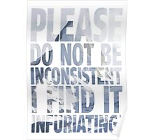 Please. Do not. Poster