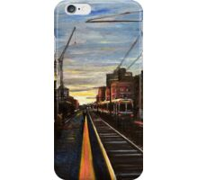 Boston- Green line E Train Museum Stop iPhone Case/Skin