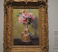 Renoir Bouquet in a Vase by IndyLady