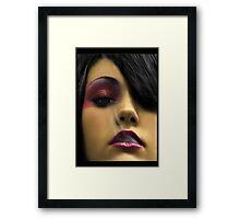 Fushia Framed Print