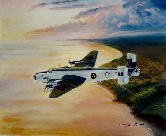 Halifax 58 Sqdn Coastal Command by Woodie