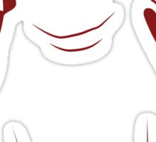 Festive Penguin, Red Sticker