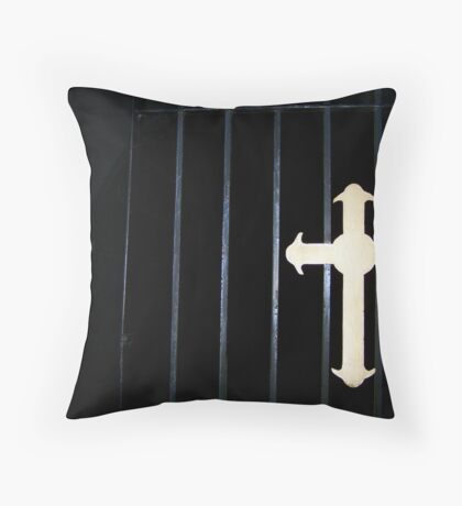 heavens gate? Throw Pillow