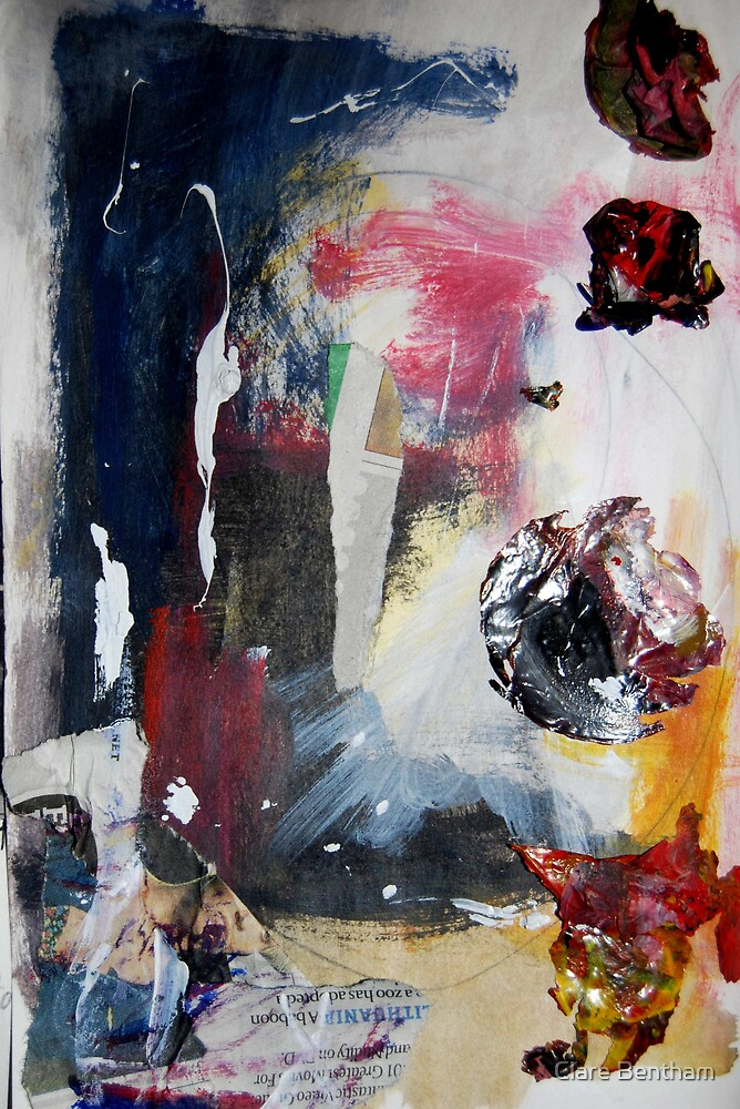Abstract Rubbish.. by Clare Bentham