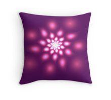 A fractal flower Throw Pillow