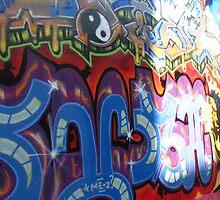Grafitti.San Fran. by MegCouch