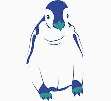 Festive Penguin, Blue T-Shirt