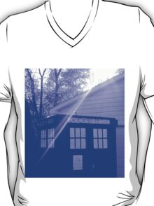Blue and White T.A.R.D.I.S. T-Shirt