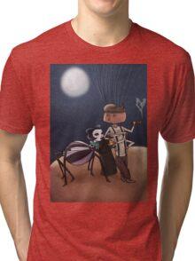 Peach By The Moonlight Tri-blend T-Shirt