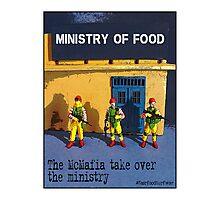 The McMafia take over the ministry! Photographic Print