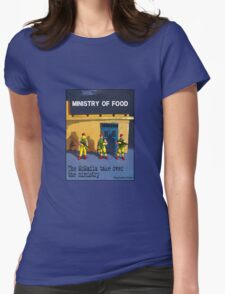 The McMafia take over the ministry! Womens Fitted T-Shirt
