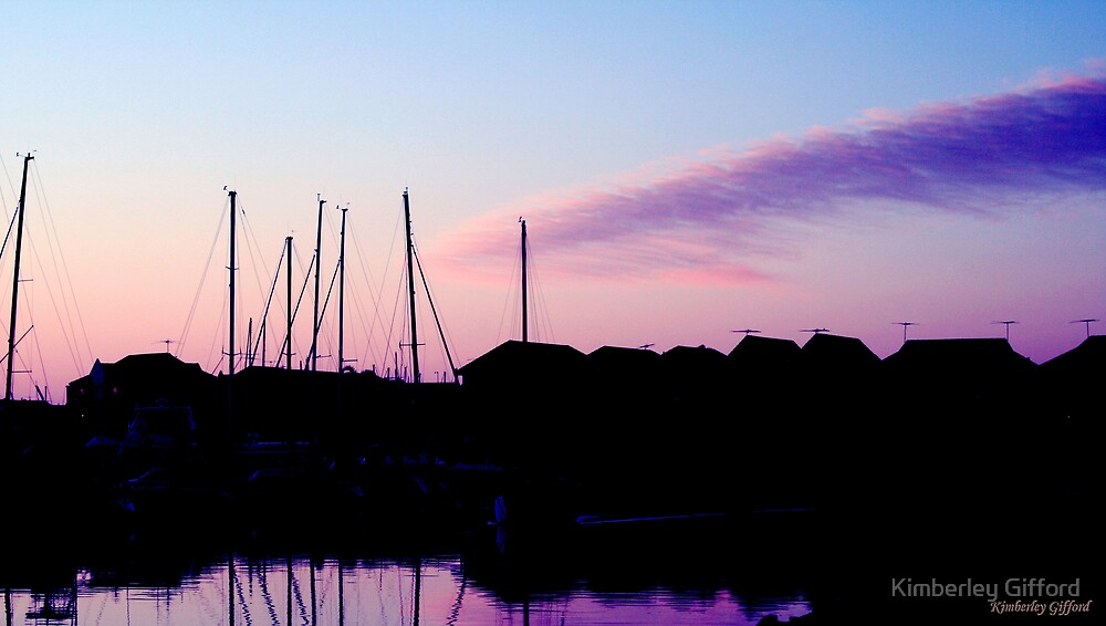 Silhouette Yachts by Kimberley Gifford