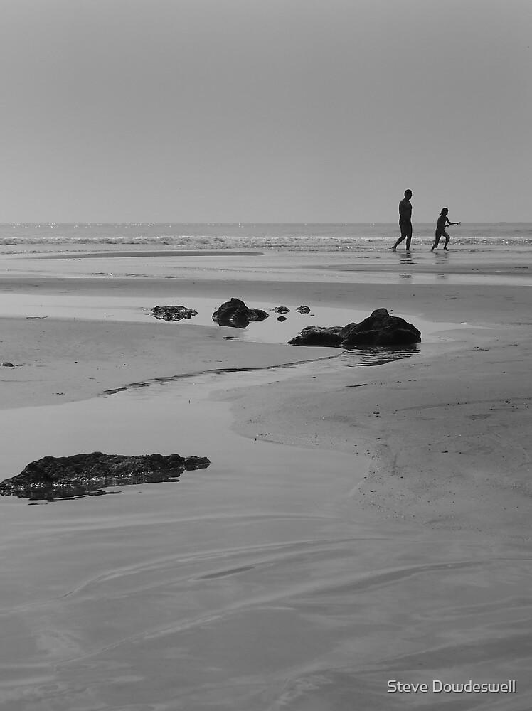 Fun On The Beach by Steve Dowdeswell