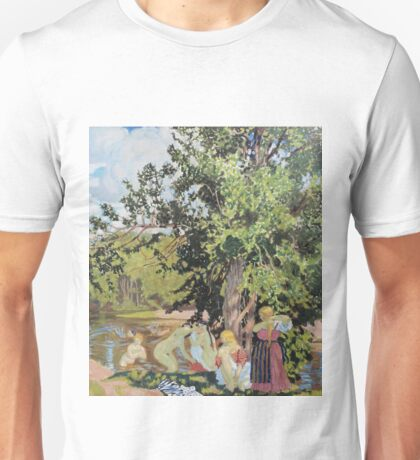 Boris Kustodiev - The Bath 1910 Unisex T-Shirt