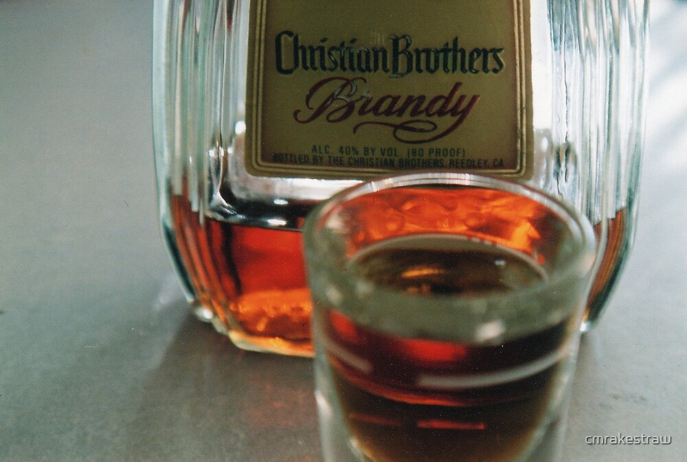 Christian Brothers Brandy by cmrakestraw