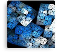Fractal Blocks Canvas Print