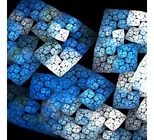 Fractal Blocks Photographic Print