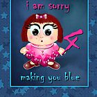 I Am Sorry Card by Kayleen West