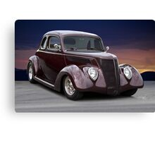 1937 Ford Coupe 2 Canvas Print