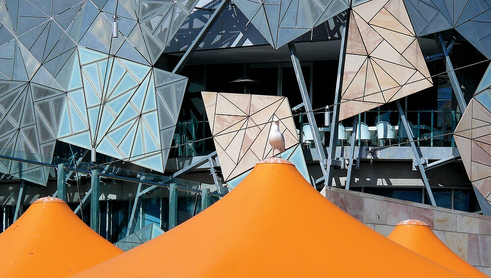 Fed Square by eclectic1