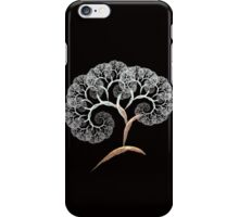 cherry blossom fractal tree iPhone Case/Skin