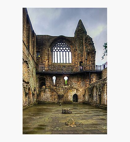 Dunfermline Abbey Refectory Window Photographic Print