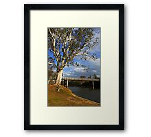 John Foorde Bridge at Corowa Framed Print