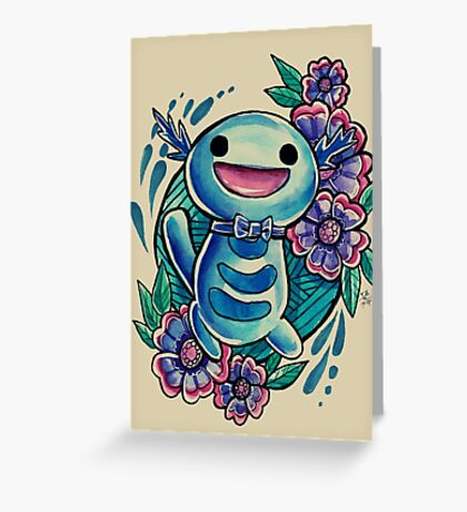 Wooper Greeting Card